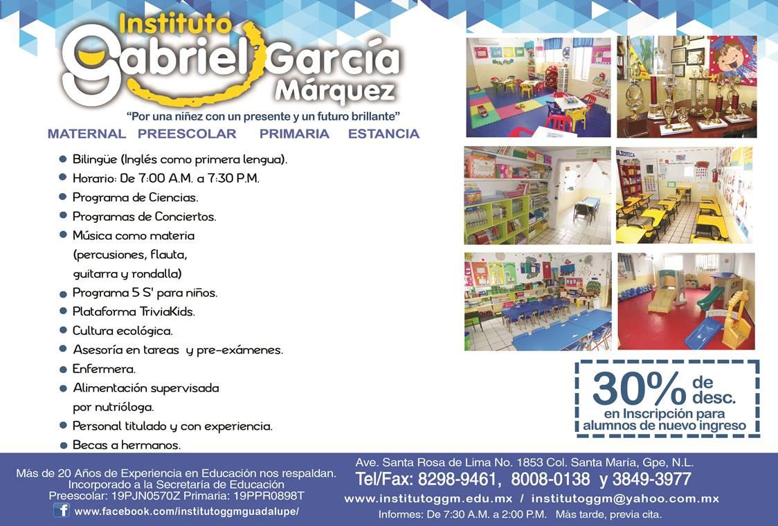 Primaria Instituto Gabriel Garcia Marques instuto bilingue en guadalupe